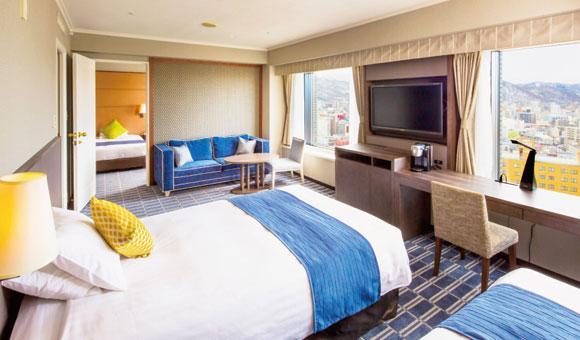 プレミアホテル 中島公園 札幌ご宿泊について