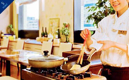 プレミアホテル 中島公園 札幌卵料理のある朝食
