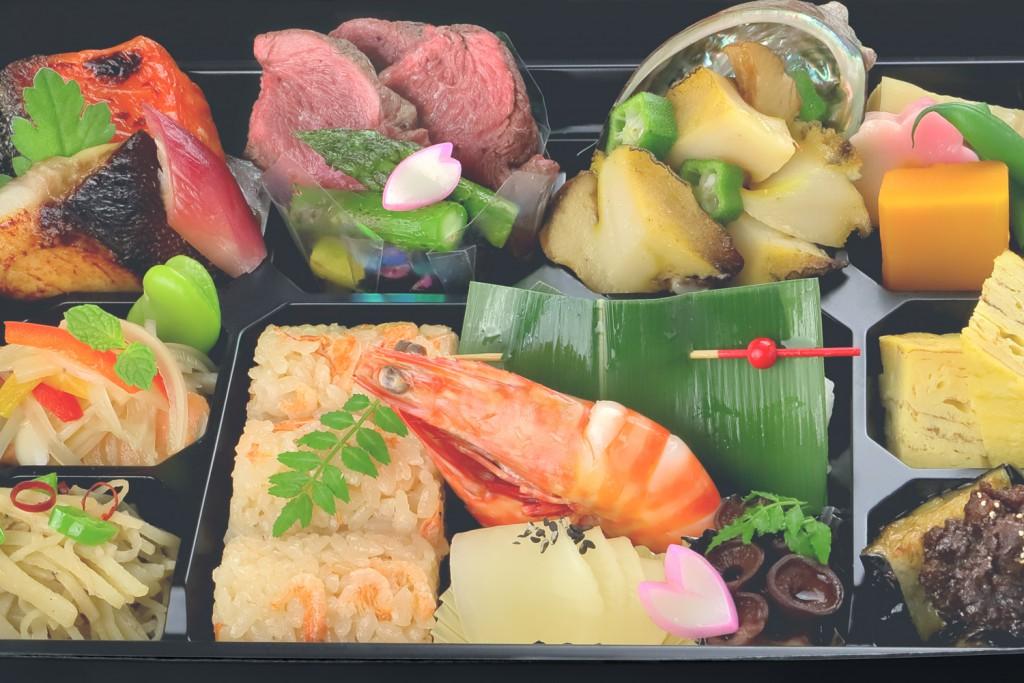 あわび、銀鱈、黒毛和牛〜陸海の玉手箱 《和乃八窓庵 特製 アニバーサリー 美食 ボックス》